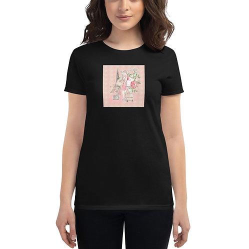 Women's short sleeve t-shirt PARIS