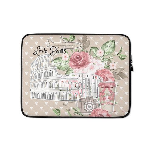 Laptop Sleeve - Paris Love