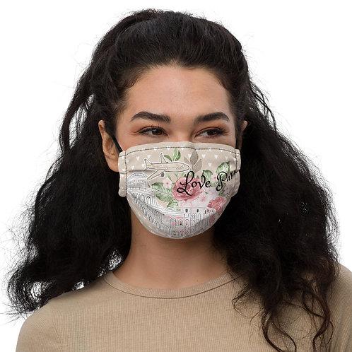 Premium face mask - Love Paris