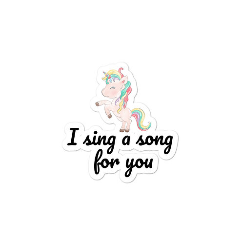 A Song for You - Sticker