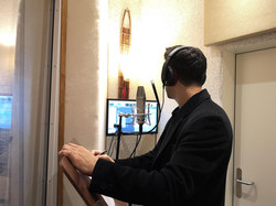 vocal recording at 77 sound studio