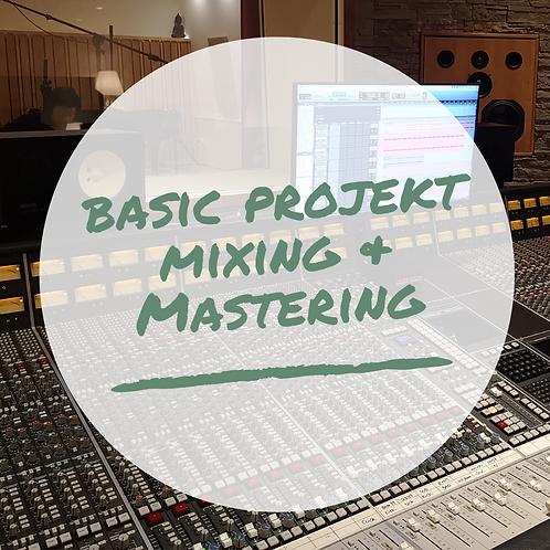 Basic Projekt Mixing & Mastering