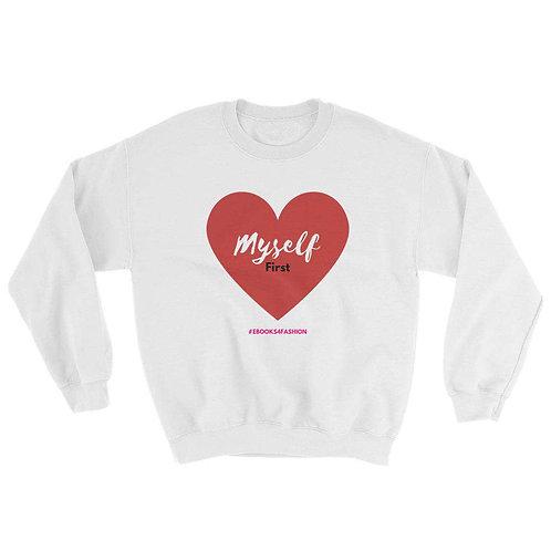 Love Myself First - Sweatshirt - Red