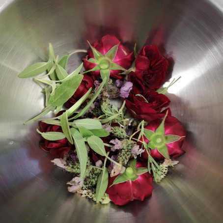 Make your own Rosewater!