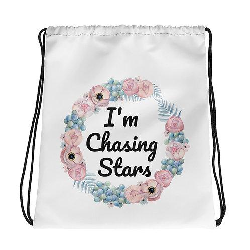 Drawstring bag - I'm Chasing Stars