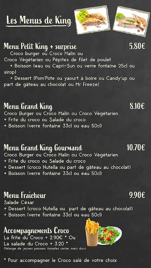 Carte Snacking King Aventure menus.png