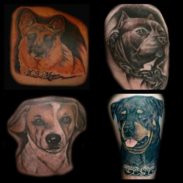 Tattoos by Scott Harrison