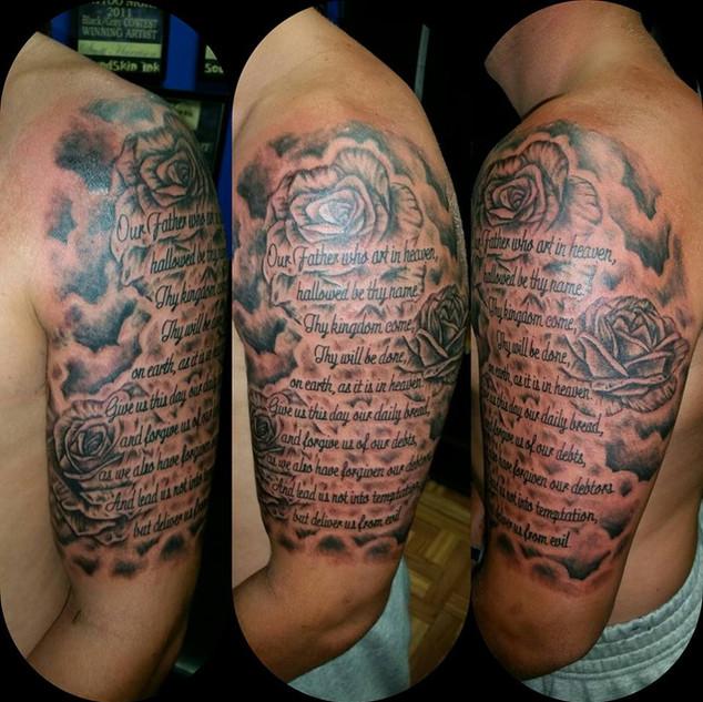 Tattoo by Scott Harrison