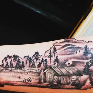 Tattoo by Glenn Clark