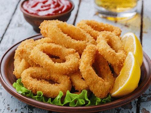 Frozen Breaded Squid Rings 1 Kg