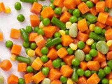 Frozen Mixed Vegetable 2.5 Kg Origin Belgium