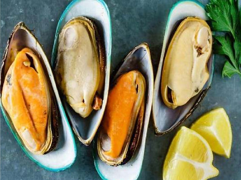 Mussels Half Shell New Zealand ( Large ) 1 Kg