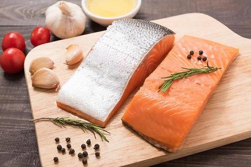 Salmon Fillet Fish Skin On ( Norway ) 1+ Kg