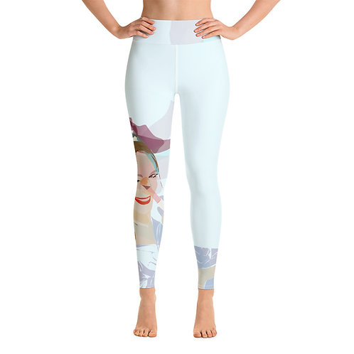 Yoga Leggings, Woman Luchi Numer