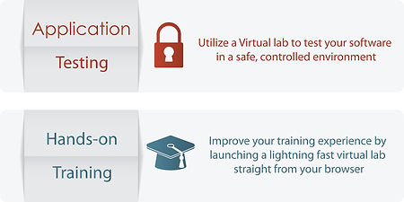 KTSLABS.COM virtual servers can be used for software solution testing, as a development environment or for hands-on learning.
