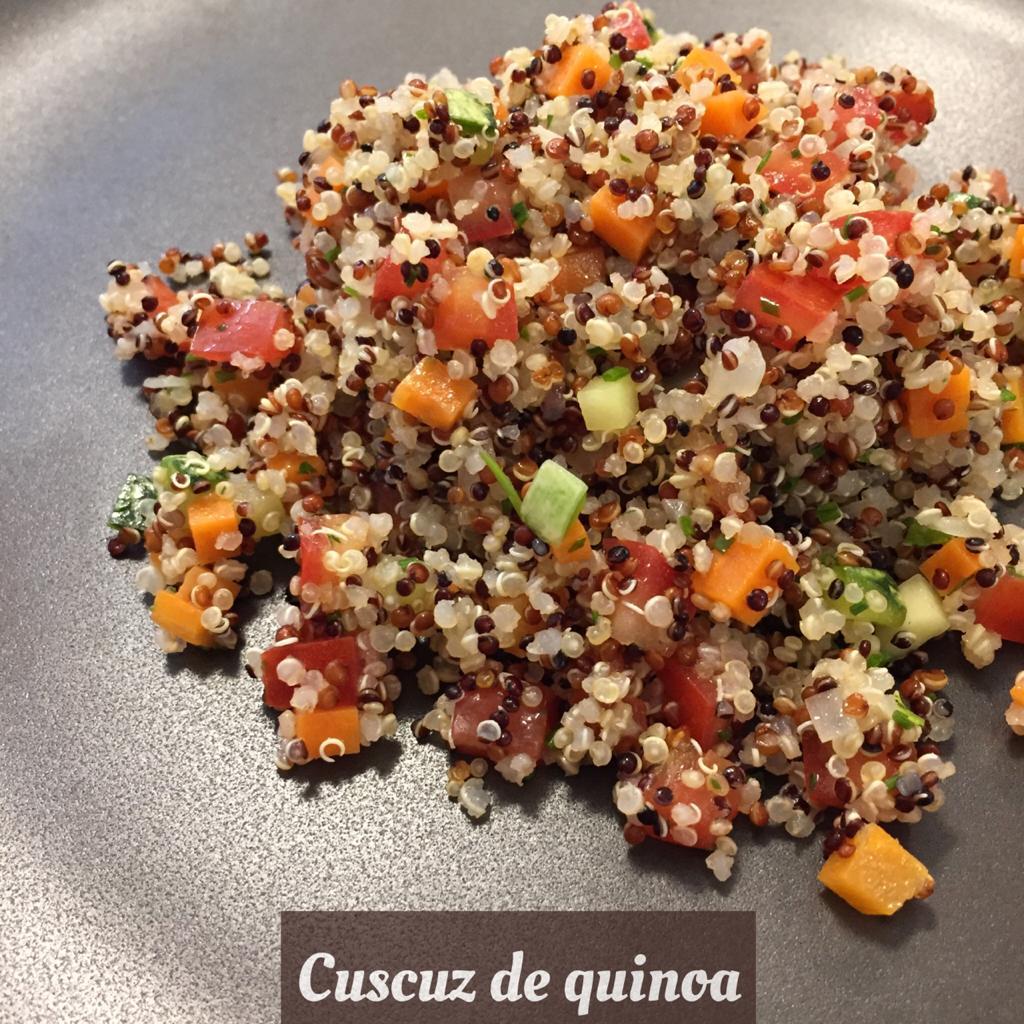 Cuscuz de quinoa