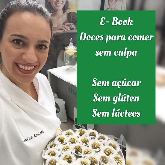 E-book Doces para Comer sem Culpa