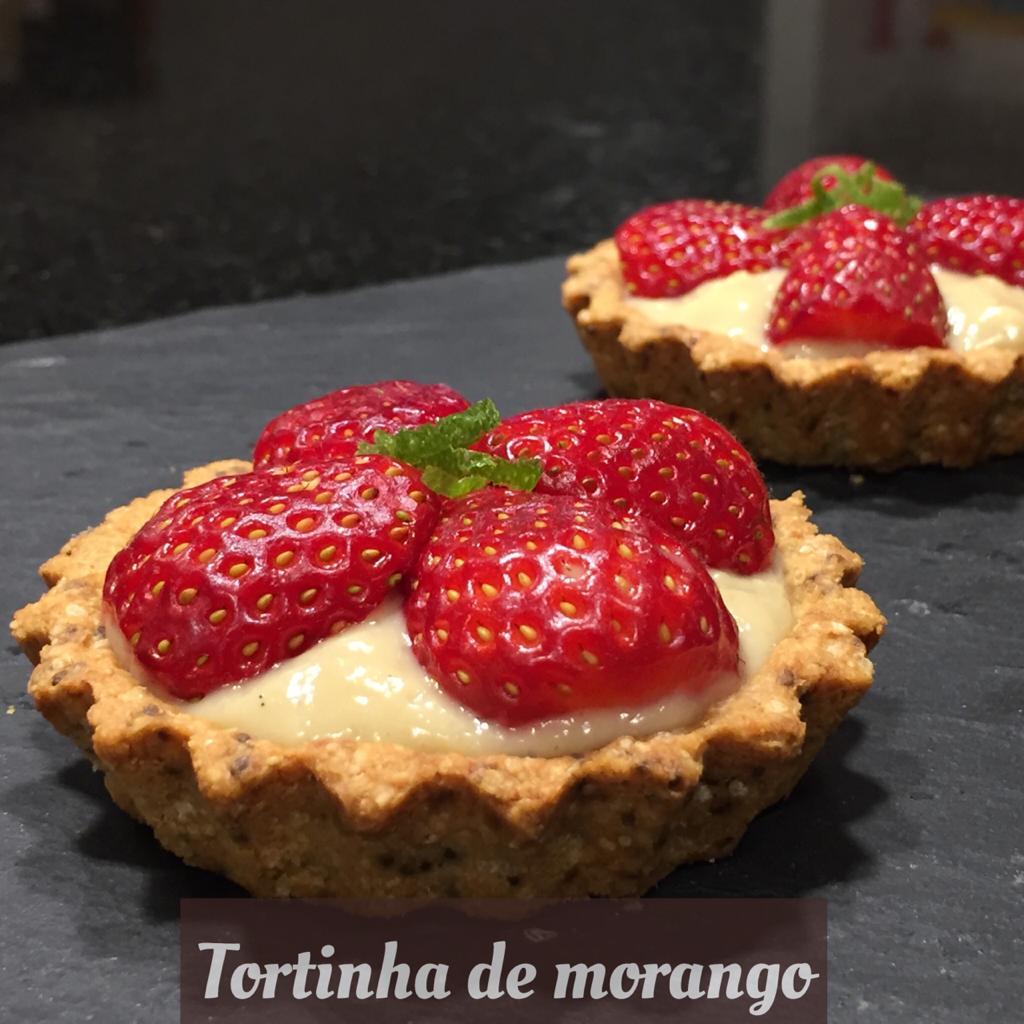 Tortinha de morango