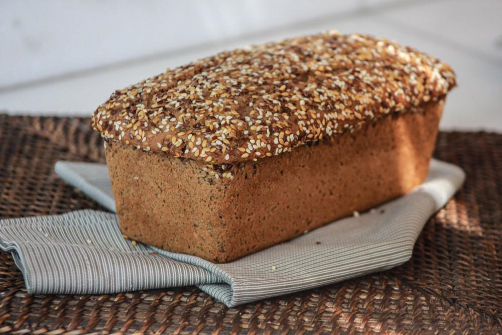 Pão de Sementes - Sem Glúten