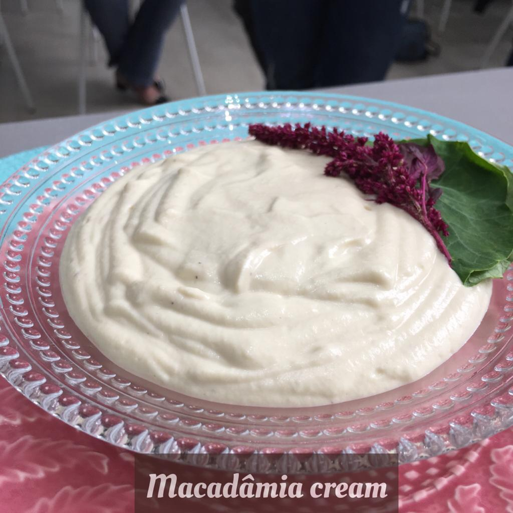 Queijo macadamia cream