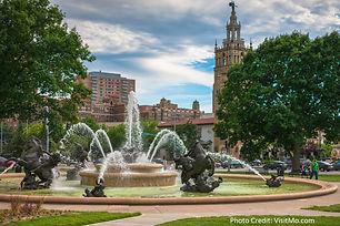 Kansas City-J C Nichols Memorial Fountai