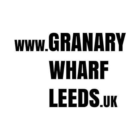The brand new web address of Granary Wharf, Leeds