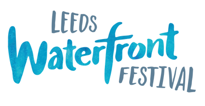 Leeds Waterfront Festival Logo - Granary Wharf, Leeds