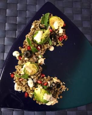 Lentils, Millets and Carrot Salad