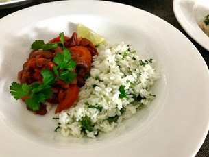Mexican Beans, Herb Rice