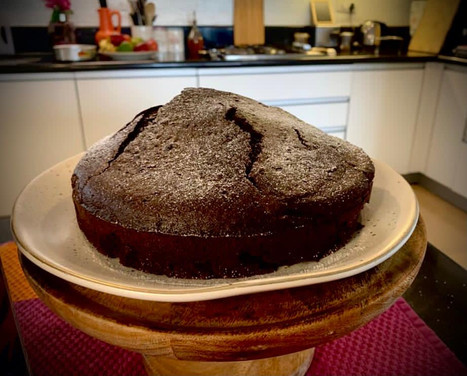 One Bowl Chocolate Cake (without eggs)