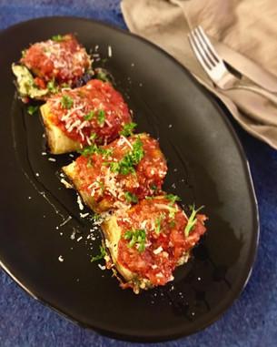 Baked Eggplant Rolls