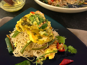 Thai Lemongrass Coconut Fish