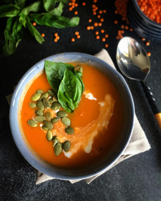 Tomato and Red Lentil Soup