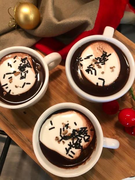 Cardamom Spiced Hot Chocolate Shots