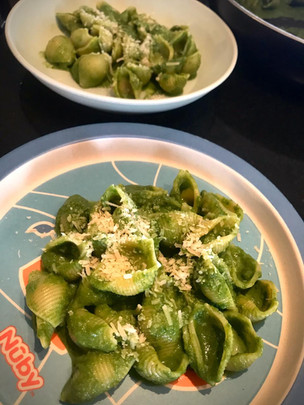 Creamy Spinach Pasta for Kids
