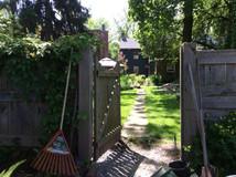 Marietta Garden Entrance