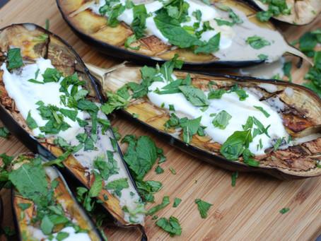 Berenjenas al horno con queso y champiñones, clásico italiano reinventado
