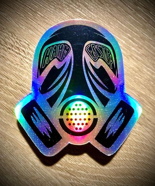 Gasmask Holo-Sticker (Limited Edition)