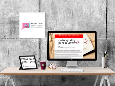 Webseite für SQPR.ch