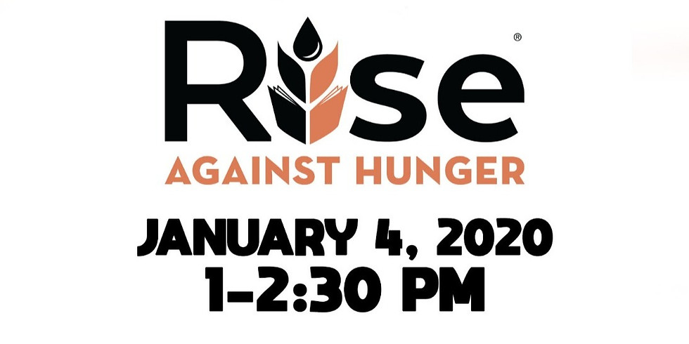 Rise Against Hunger Service Event