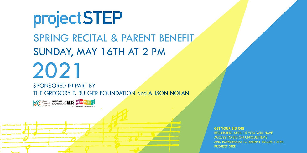 Project STEP's Annual Spring Recital and Parent Benefit