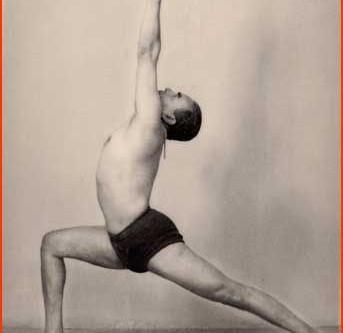 B.K.S. Iyengar and the development of posture