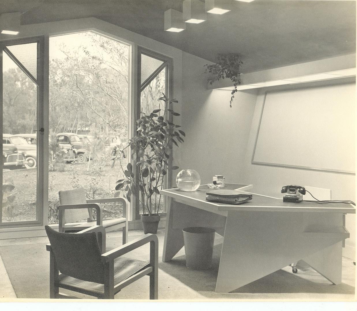 The Alden B. Dow original office.