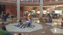 The Lake Jackson Historical Museum offers games and activities for all to participate and have fun.