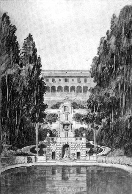 Villa Turicum Original Sketch