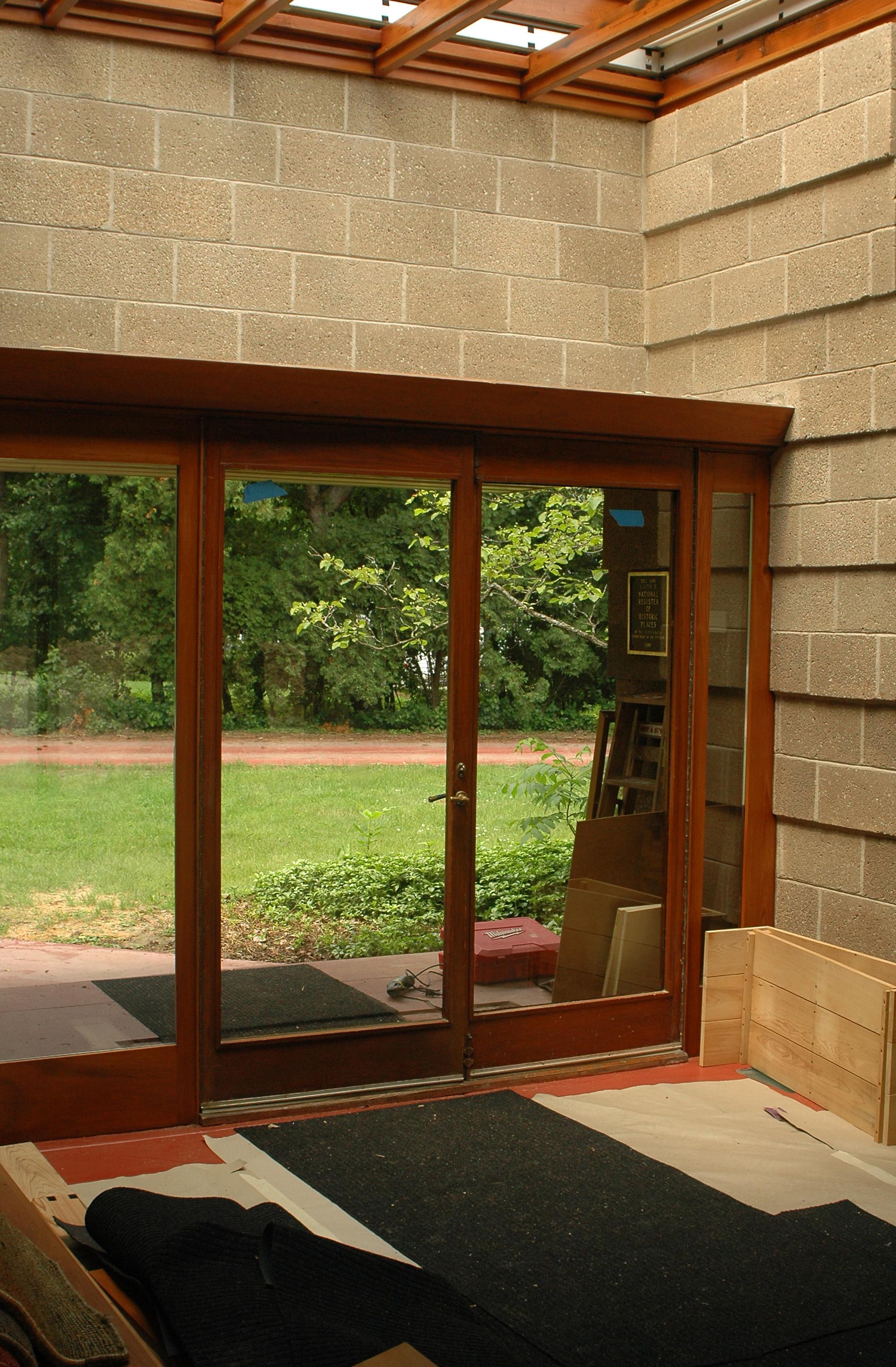 Restored Entry Doorset