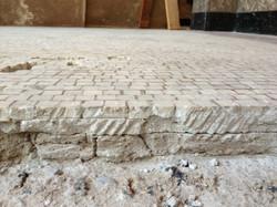 US Courthouse and Federal Bulding Mosaic Repair Bedding Mortar Cracks.JPG