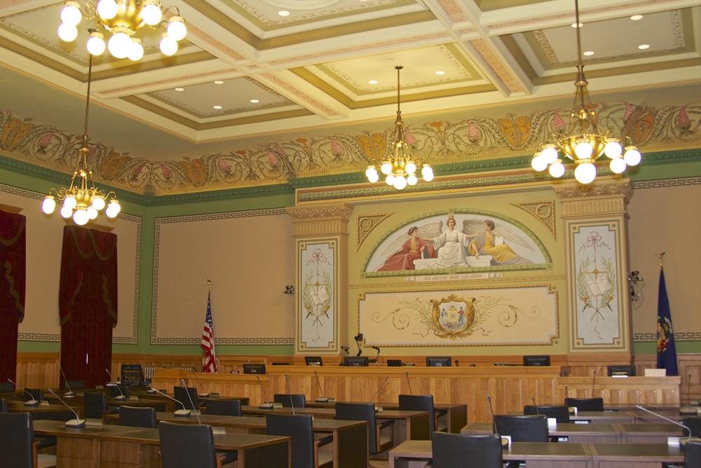Restored Courtroom
