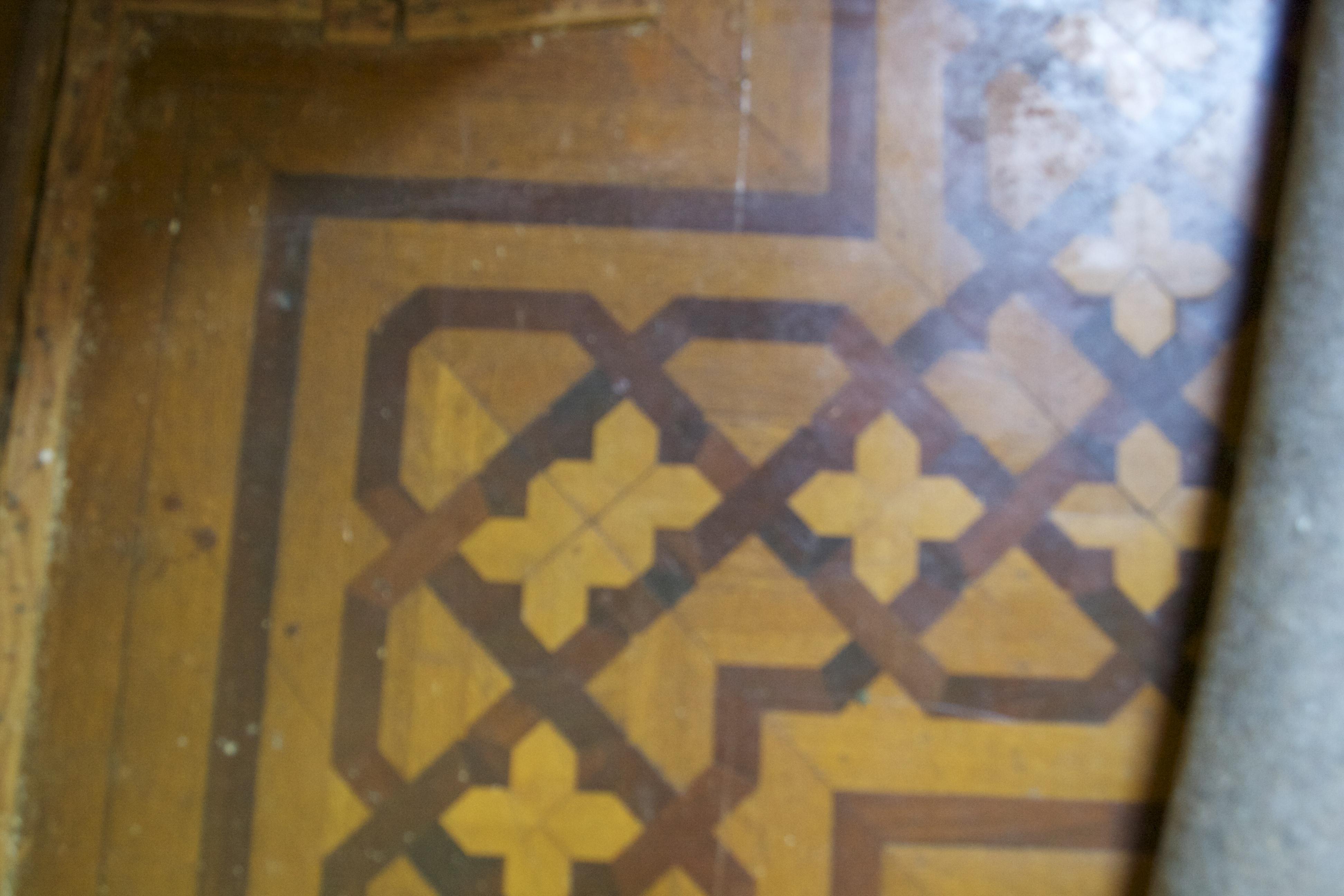 Found: Inlay Flooring
