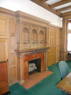 Dining Room Fireplace
